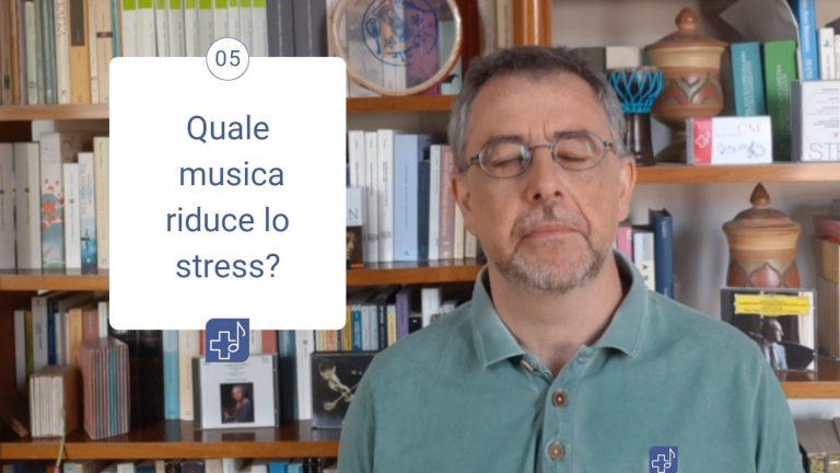 La musica che riduce lo stress